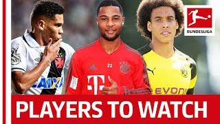 Players to Watch Out For in 2018/19 Season | Bundesliga XI - Witsel, Paulinho, Gnabry and Co. Video