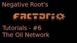 Factorio Tutorial 6 - The Oil Network
