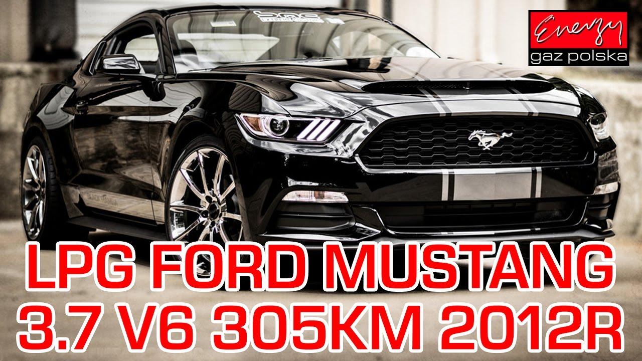 Montaż LPG Ford Mustang z 3.7 305KM 2012r w Energy Gaz Polska na gaz BRC SQ P&D