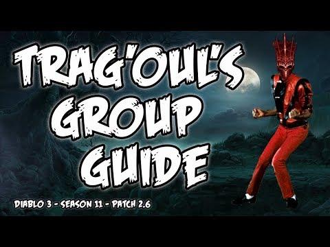 Diablo 3 2.6 Trag'Oul's Corpse Lancer Necromancer Group Guide