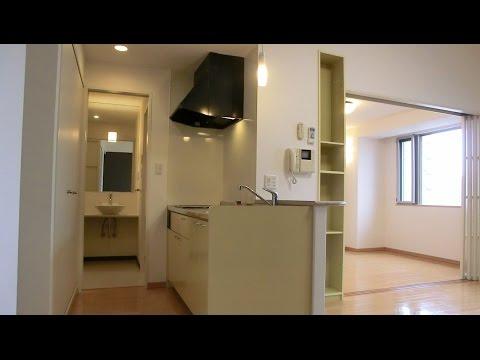Japanese Apartment Tour: 1LDK apartment in Fukushima-ku, Osaka