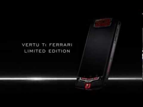 THE NEW VERTU Ti FERRARI LIMITED EDITION