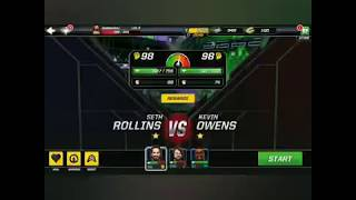 Fighting for Seth Rollins vs Kevin Owens 💪💪💪