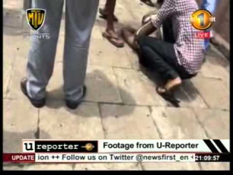 News 1st-Exclusive – Colombo accident involving police officer captured on video