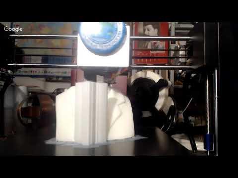 3D Печать - Бюст Никола Тесла
