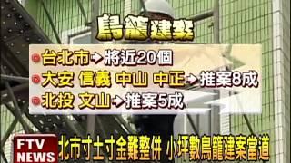全台最小!台北鳥籠建地不到20坪-民視新聞