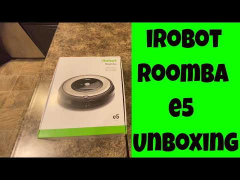iRobot Roomba E5 E5176 Robot Vacuum UNBOXING - Review to Follow - Can it keep up with the i7?