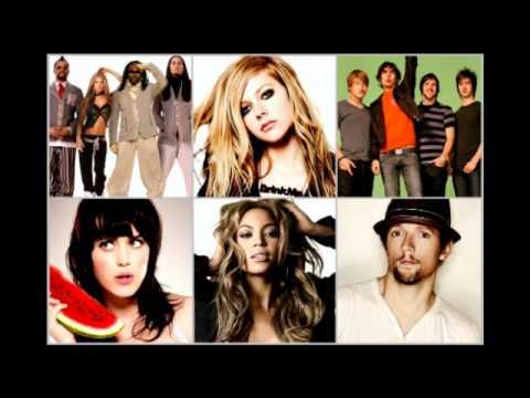 Avril Lavigne vs. Beyonce, Jason Mraz, Katy Perry, BEP, AAR - What The Hell (Megamix Mash-Up)