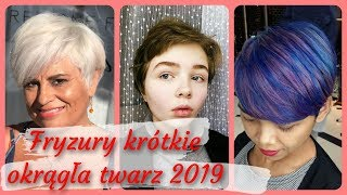 Ranking 20 ⭐ najlepszych fryzury krótkie okrągła twarz 2019
