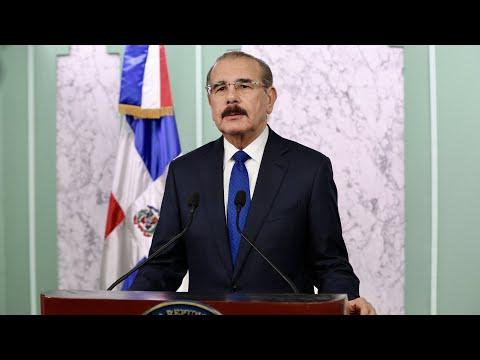 Danilo Medina extiende acciones sociales por COVID-19 hasta 16 agosto; confía elecciones se desarrollarán en paz y con masiva participación