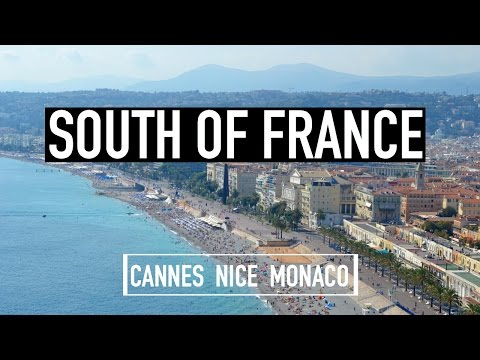 SOUTH OF FRANCE & MONACO VLOG | Cannes + Nice + Monte Carlo