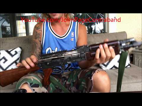 AK 47 Cleaning in Detail Disassembly Reassembly Lube