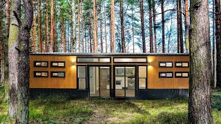 Off Grid Container Home Suitable For Preppers