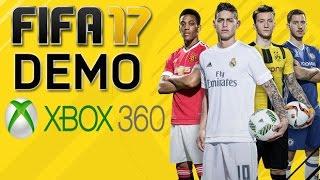 FIFA 17 DEMO MUITAS NOVIDADES XBOX 360