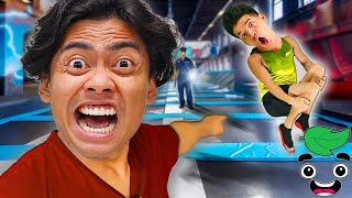 10 Things Not To Do at a TRAMPOLINE PARK..