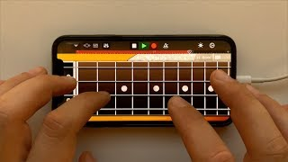 The White Stripes - Seven Nation Army on iPhone (GarageBand)