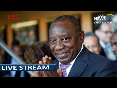 Pres. Ramaphosa briefs the media on London trip