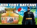 BOX FORT BATCAVE!! 📦🦇 Batman Adventure Nerf, Gadgets & More!