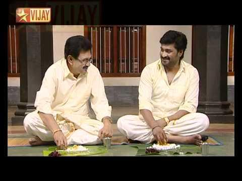 senthil and sreeja on udhaiyam dhall ads doovi
