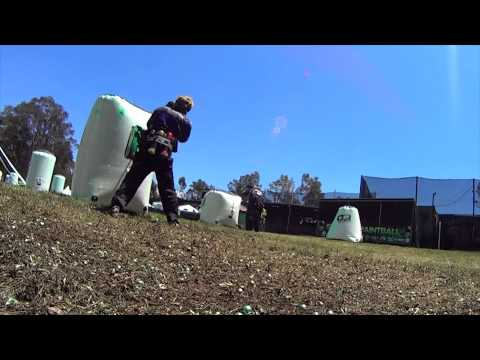Sony Exmor R paintball test