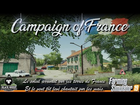 FS19|Preview Campaign Of France Map