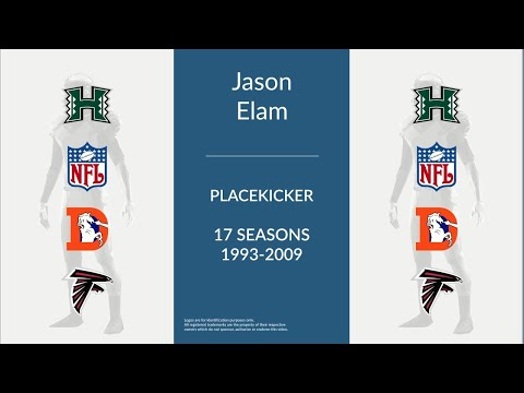 Jason Elam: Football Placekicker