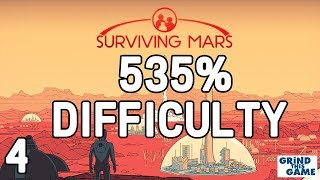 Surviving Mars - HARDEST? #4 (535%) DIFFICULTY - We WILL Survive! Playthrough [4k]