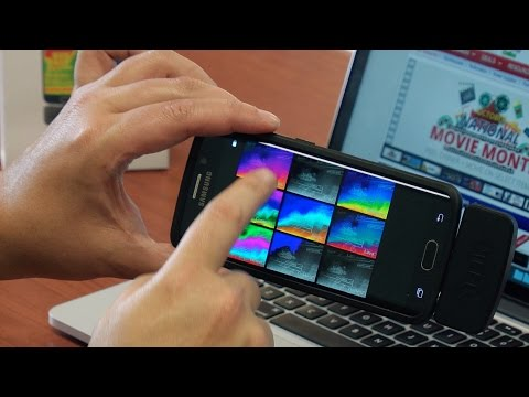 FLIR ONE for Android Thermal Imaging Camera Demo Video