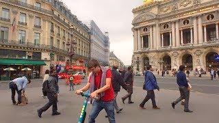 Paris Shopping District Walk: Galeries Lafayette, Palais Garnier Opera House & Madeleine Church