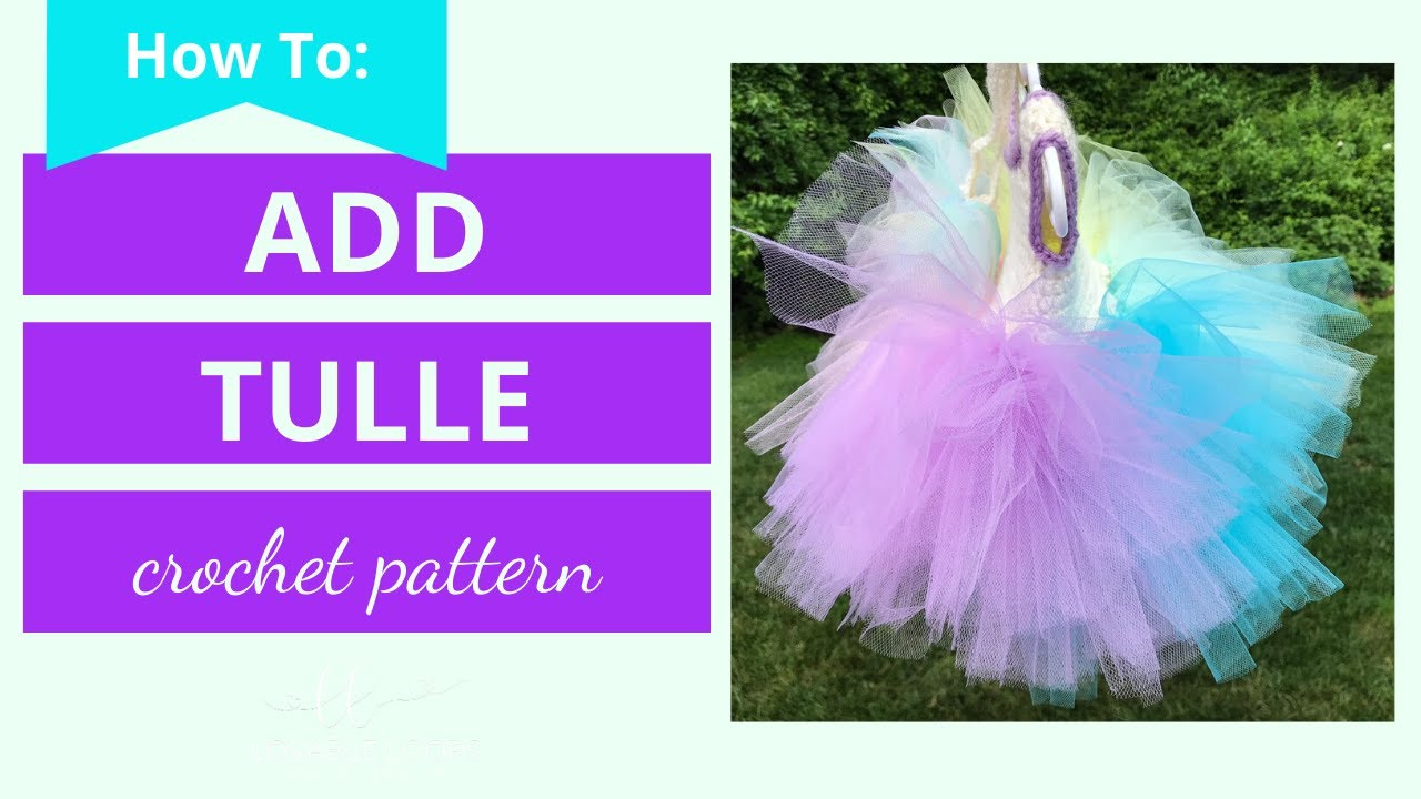 47d974090f Add Tulle to Crochet Bodice Top