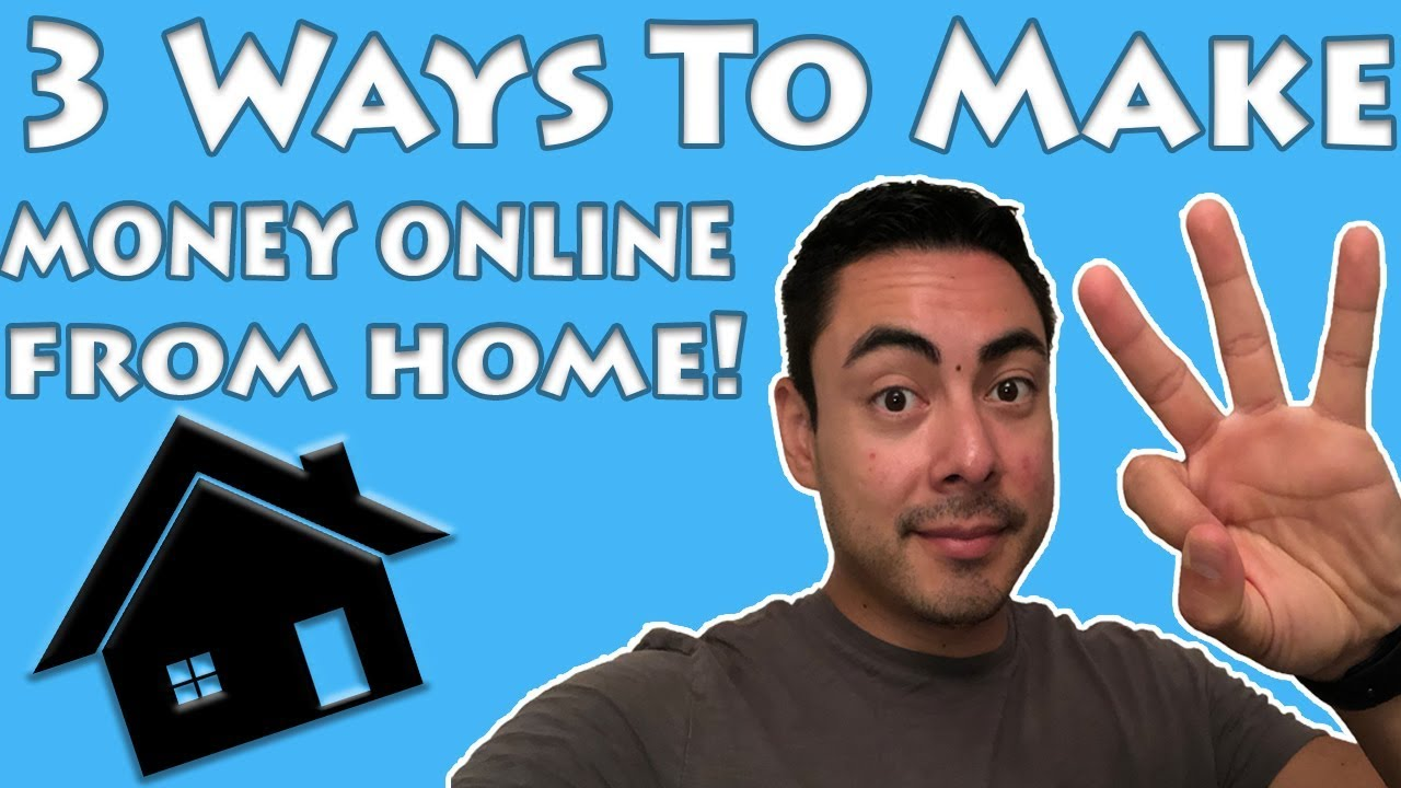 how to make more money online from home