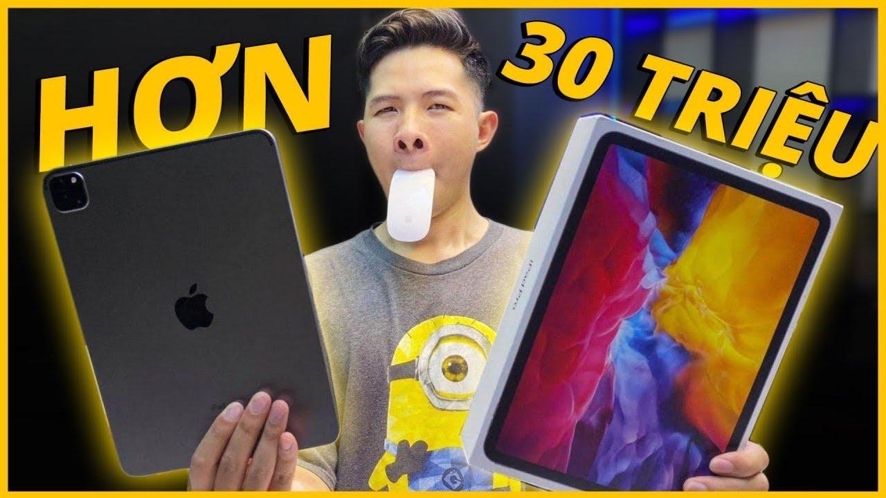 UNBOX COMBO iPAD PRO 2020 + MAGIC MOUSE 2 HƠN 30 TRIỆU!!!