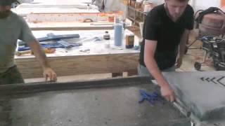 Outdoor Concrete Counter tops by Nelson Construction and Renovations