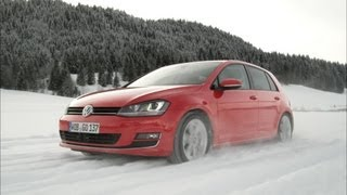NEW Golf 7 4MOTION on Snow