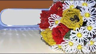Цветы из бисера / БУКЕТ из бисера на свадьбу, День Рождения