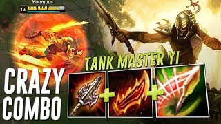 RAGEBLADE + ATMAS = CRAZY SYNERGY ! TANK MASTER YI IS GONNA BE AN UNKILLABLE 1V5 MACHINE !