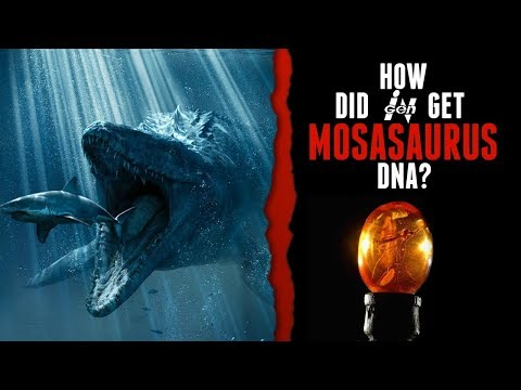 How Did InGen Get Mosasaurus DNA?