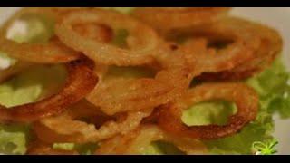 ПРОСТО Луковые колечки (закуски к пиву рецепты)