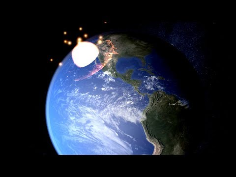 If an Asteroid Were to Hit the Earth 1 Year From Now