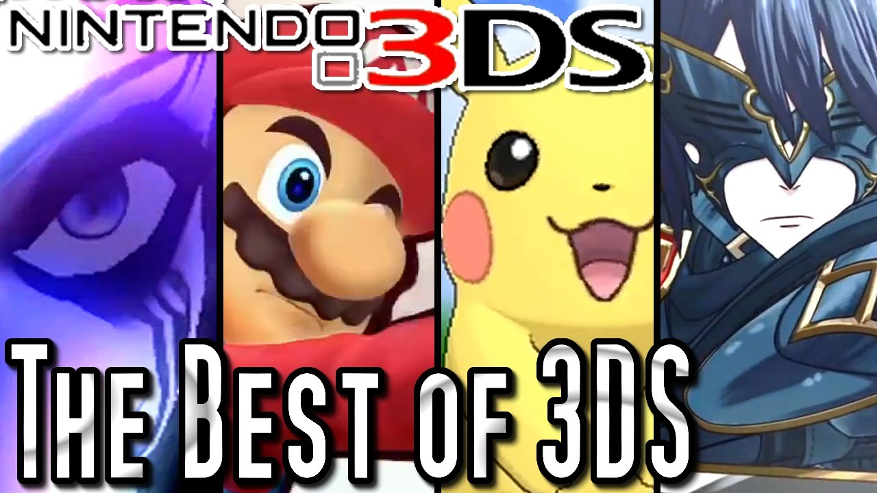 Top 10 Nintendo 3ds Games Of All Time Youtube