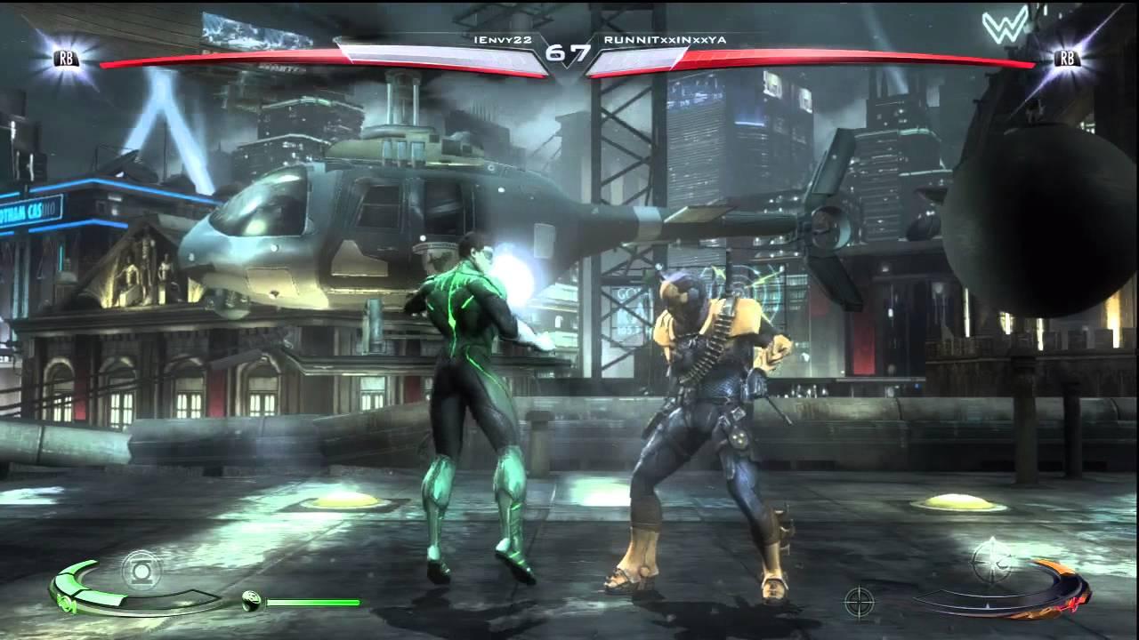 Injustice -20- Green L...