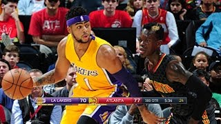 LA Lakers vs Atlanta Hawks - Full Game Highlights | November 2, 2016 | 2016-17 NBA Season