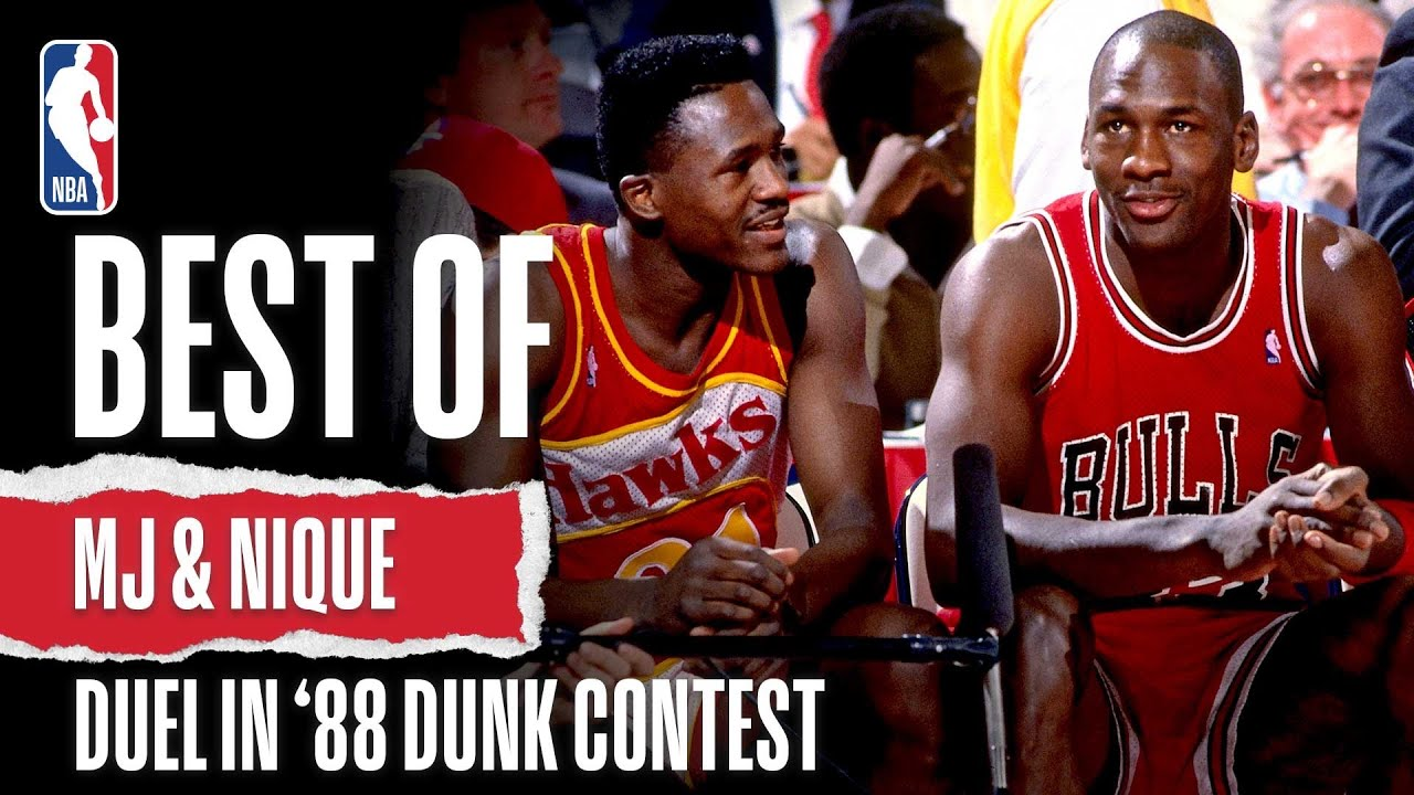 Michael Jordan and Dominique Wilkins Look Back on their 1988 Dunk