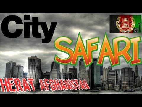 City safari Herat Afghanistan شهر هرات