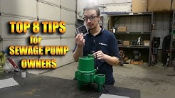 8 Things Sewage Pump Owners NEED to Know