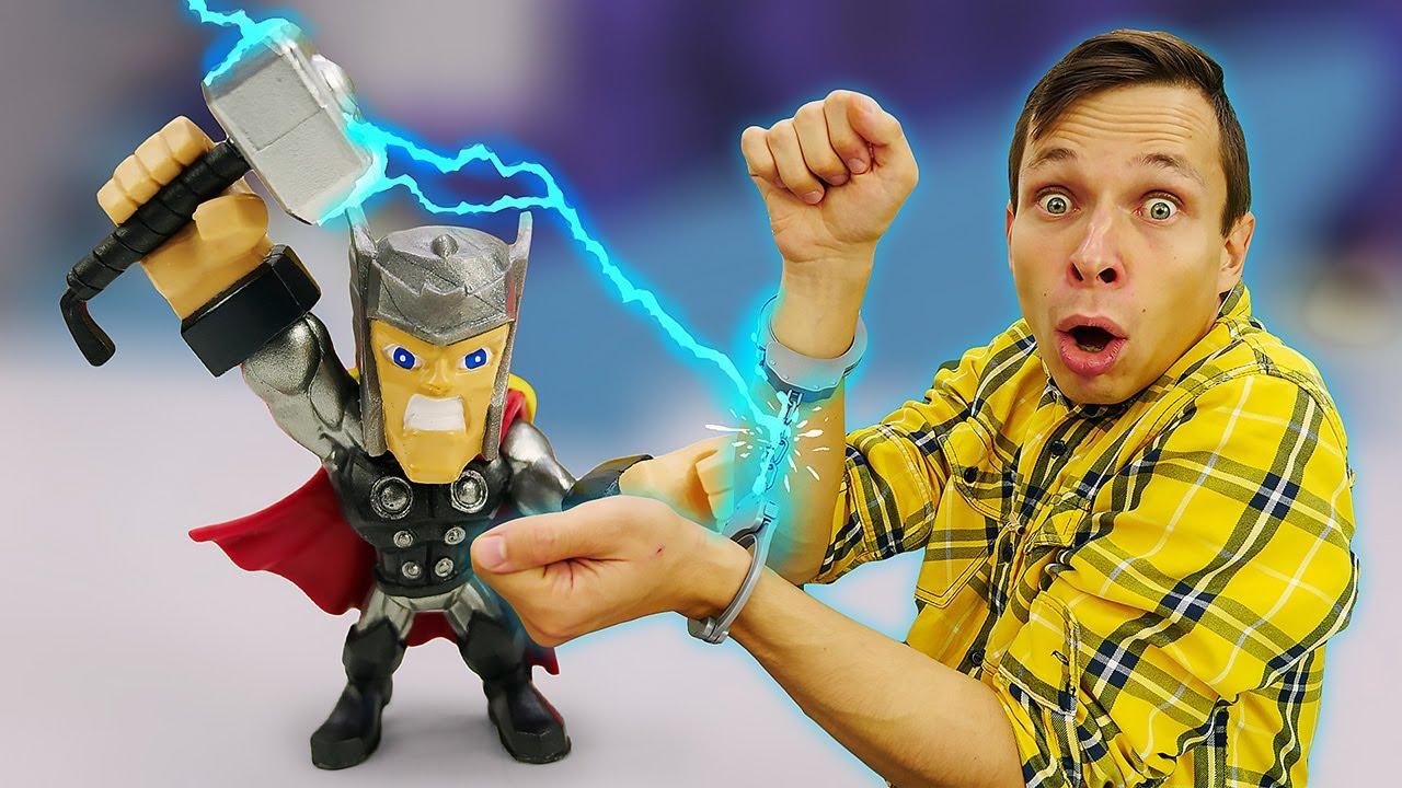 Новые видео игры - Тор спасает Мастера Фёдора! – Супергерои Мстители в онлайн видео для мальчиков