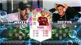 FIFA 20: THIAGO LIVERPOOL TRANSFER GLÜCKSRAD BUY FIRST ICON 🔥🔥 FEELFIFA vs Wakez !!