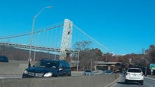 Driving West Street, West Side Highway, Henry Hudson Parkway To Yonkers New York