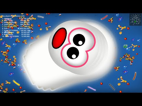 Worms Zone © 4.4M + Score Best Kill Ever World Record Top 01 Pro Never Stop Runn