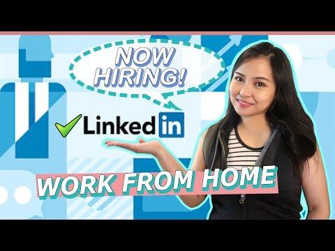 Work from Home Jobs in Linkedin | Homebased PH